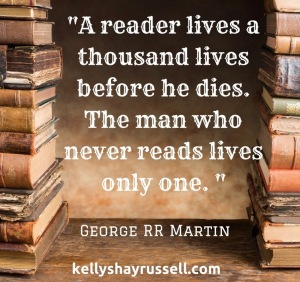 A reader lives a thousand lives before he dies. The man who never reads lives only one.-2